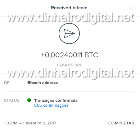 paidverts 8 pagamento