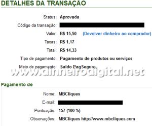 pagamento mbcliques