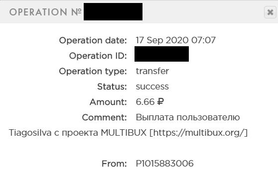 pagamento multibux 6.66-rublos